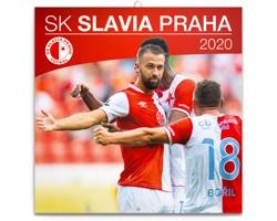 Nástěnný kalendář SK Slavia Praha 2020 - poznámkový