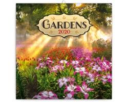 Nástěnný kalendář Zahrady 2020 - poznámkový - západoevropský
