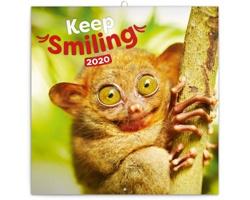 Nástěnný kalendář Úsměv 2020 - poznámkový