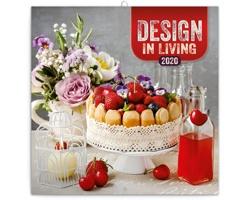 Nástěnný kalendář Design in Living 2020 - poznámkový - západoevropský