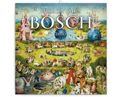 Nástěnný kalendář Hieronymus Bosch 2020 - poznámkový - západoevropský