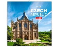 Nástěnný kalendář Česká republika 2020 - mini, poznámkový