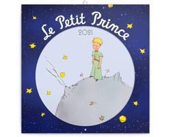 Nástěnný kalendář Malý princ 2021 - poznámkový