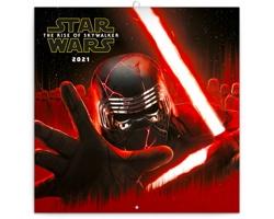 Nástěnný kalendář Star Wars 2021 - poznámkový