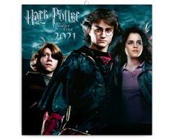 Nástěnný kalendář Harry Potter 2021 - poznámkový