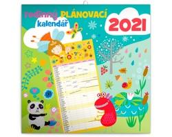 Nástěnný kalendář Rodinný plánovací 2021