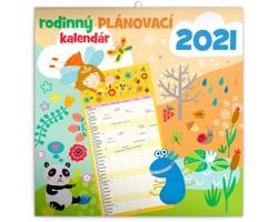 Nástěnný kalendář Rodinný plánovací 2021 - slovenský