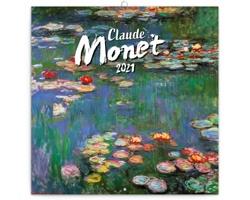 Nástěnný kalendář Claude Monet 2021 - poznámkový - západoevropský