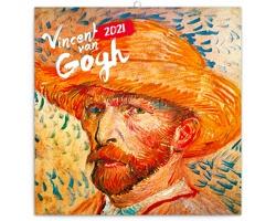 Nástěnný kalendář Vincent van Gogh 2021 - poznámkový - západoevropský