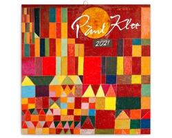Nástěnný kalendář Paul Klee 2021 - poznámkový - západoevropský