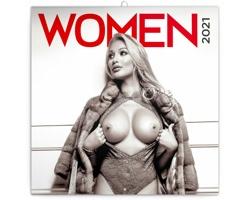 Nástěnný kalendář Ženy 2021 - poznámkový - západoevropský