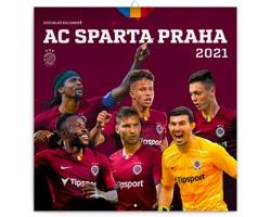 Nástěnný kalendář AC Sparta Praha 2021 - poznámkový