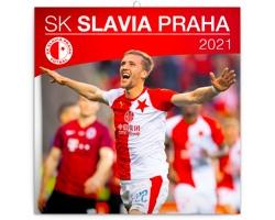 Nástěnný kalendář SK Slavia Praha 2021 - poznámkový
