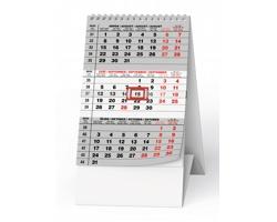 Stolní kalendář Mini tříměsíční 2022