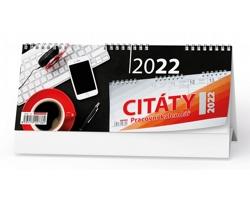 Stolní kalendář Citáty I 2022
