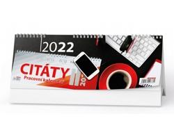 Stolní kalendář Citáty II 2022