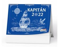 Stolní kalendář Kapitán 2022