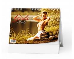 Stolní kalendář Girls 2020