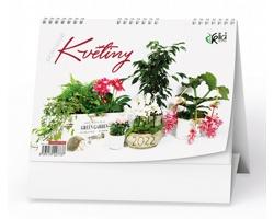 Stolní kalendář Pokojové květiny 2022
