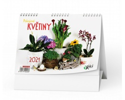 Stolní kalendář Pokojové květiny 2021