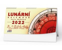 Stolní kalendář Lunární Pavla Skácela 2022
