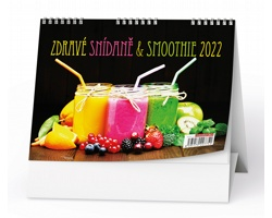 Stolní kalendář Zdravé snídaně + smoothie 2022