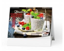 Stolní kalendář Zdravé snídaně&smoothie 2021