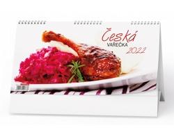 Stolní kalendář Česká vařečka 2022
