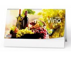 Stolní kalendář Víno 2022