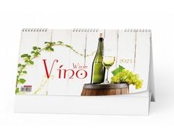 Stolní kalendář Víno 2021