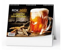 Stolní kalendář Rok 2022 s českými minipivovary