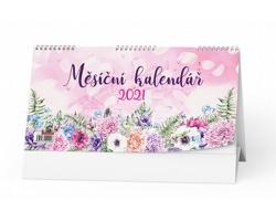 Stolní kalendář Měsíční stolní 2021