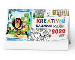 Stolní kalendář Kreativní pro děti 2022