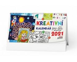 Stolní kalendář Kreativní pro děti 2021