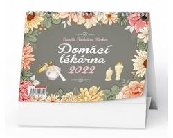Stolní kalendář Domácí lékárna - Renata Raduševa Herber - 2022
