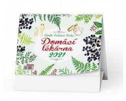 Stolní kalendář Domácí lékárna 2021 - Renata Raduševa Herber