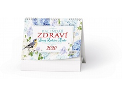 Stolní kalendář Zdraví 2020 - Renata Raduševa Herber