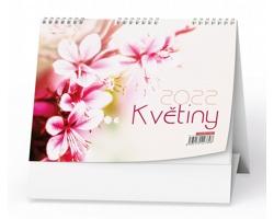 Stolní kalendář Květiny 2022