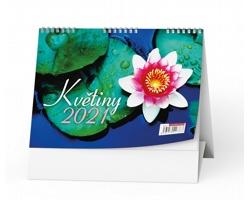 Stolní kalendář Květiny 2021