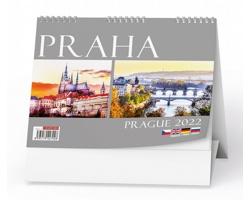 Stolní kalendář Praha 2022