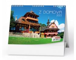 Stolní kalendář Z domova 2022