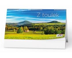Stolní kalendář Z toulek 2022