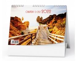 Stolní kalendář Obrázky z cest 2022