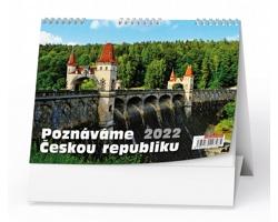 Stolní kalendář Poznáváme Českou republiku 2022