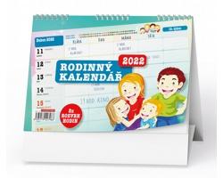 Stolní kalendář Rodinný stolní 2022