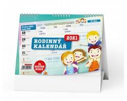 Stolní kalendář Rodinný 2021