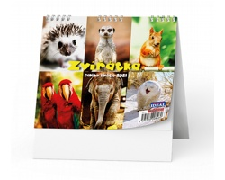 Stolní kalendář IDEÁL 2021 - Zvířátka