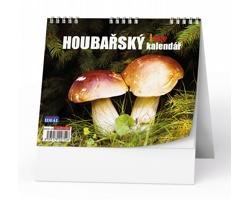 Stolní kalendář IDEÁL 2022 - Houbařský