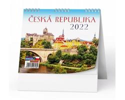 Stolní kalendář IDEÁL 2022 - Česká republika