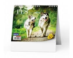 Stolní kalendář IDEÁL 2020 - Pes, věrný přítel